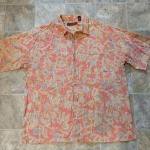 SALE!! 100% Cotton Lawn TORI RICHARD Shirt Size XL
